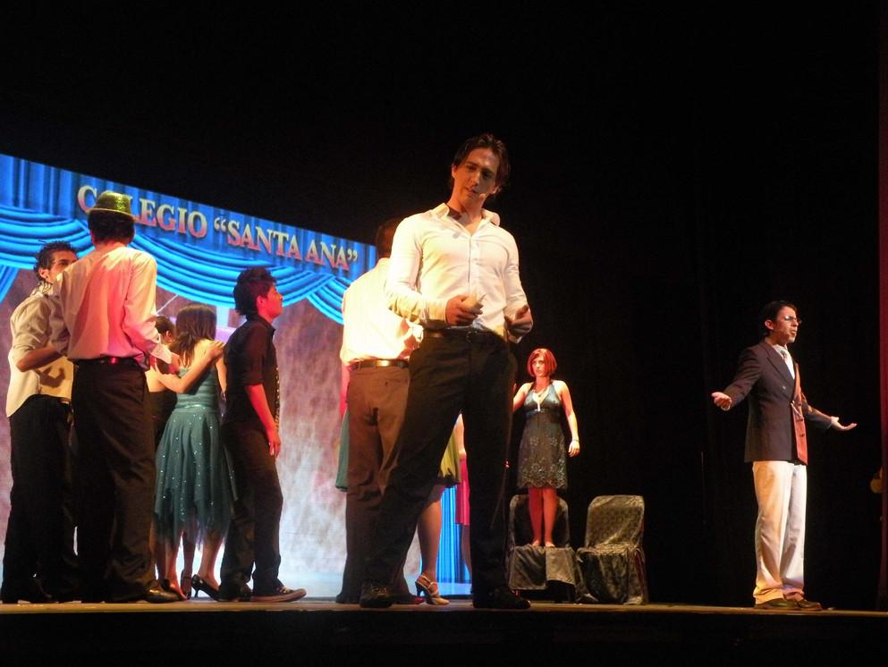 Silvio Villagómez en Amante a la Antigua