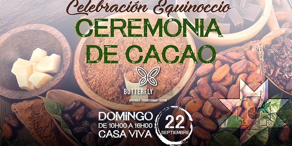 Celebración Equinoccio Ceremonia de Cacao