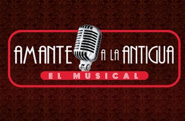 Logo Amante A La Antigua, el musical
