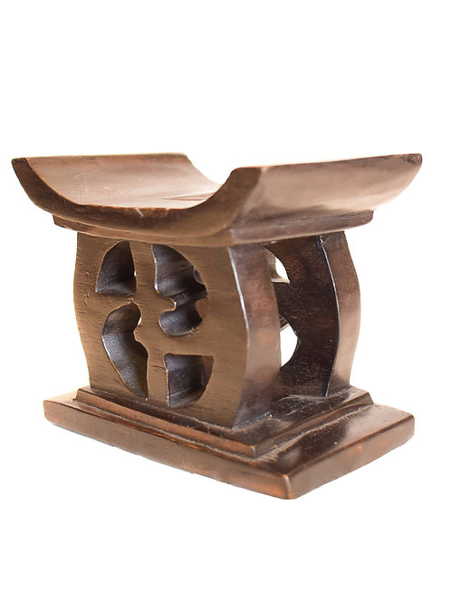 African Symbol bench