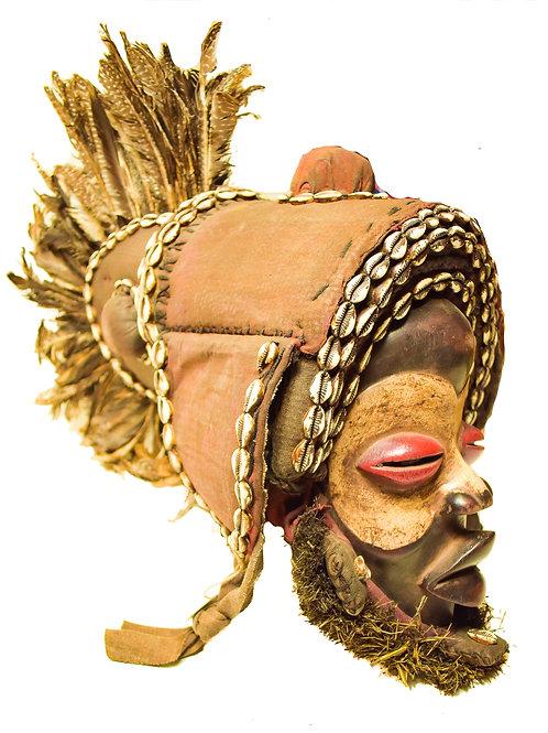 Antique Kuba Mask-2