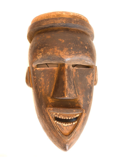 Antique Laughing Mask