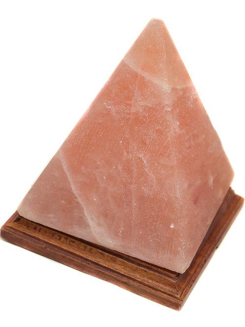 Pyramid Salt Lamp
