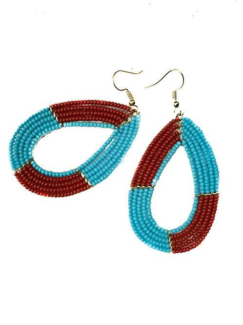 Trading Bead Earrings