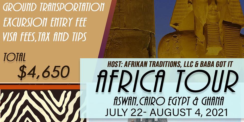 Group Tour to Afrika 2021