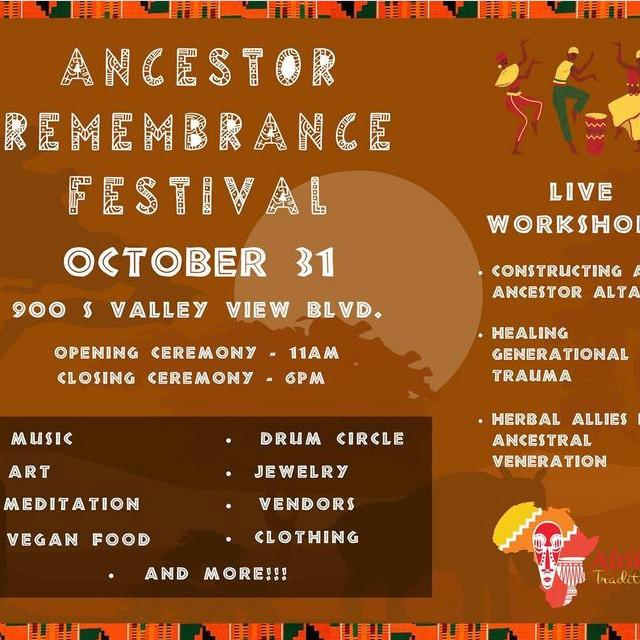 Ancestors Remembrance Festival