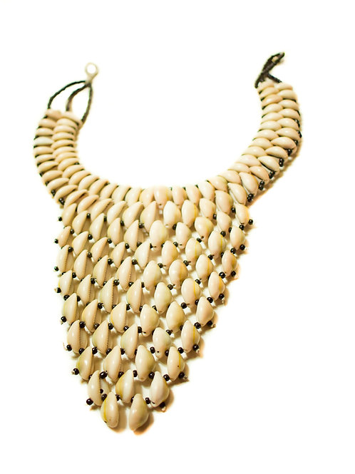 Cowry Tiered Necklace