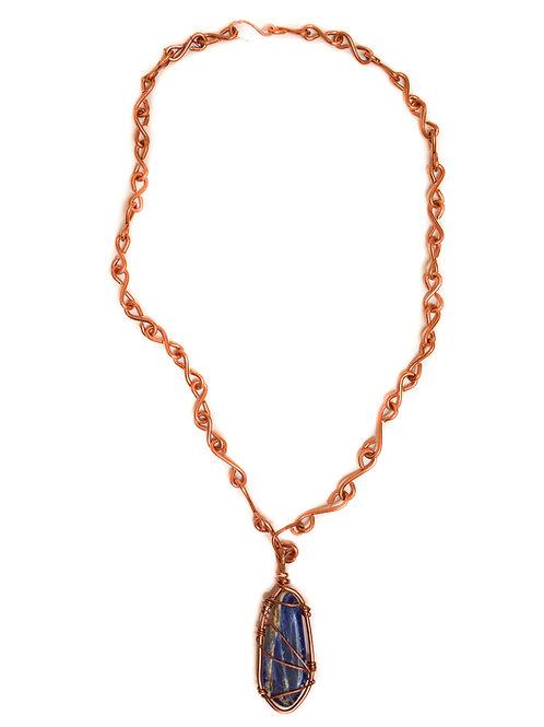 Lapis Lazuli Copper Necklace