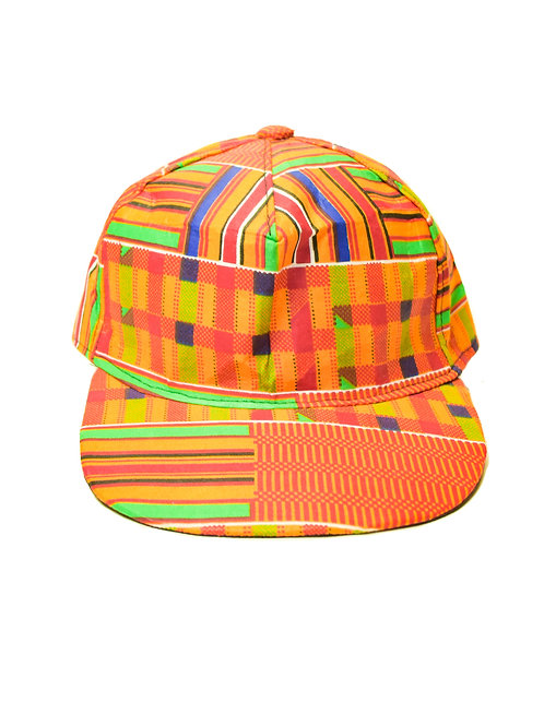 Kente Colored Cap