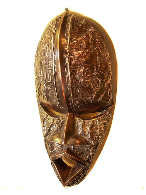 Intricate Tribal Mask
