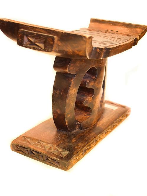 "Ebony Wood ""I AM"" bench"