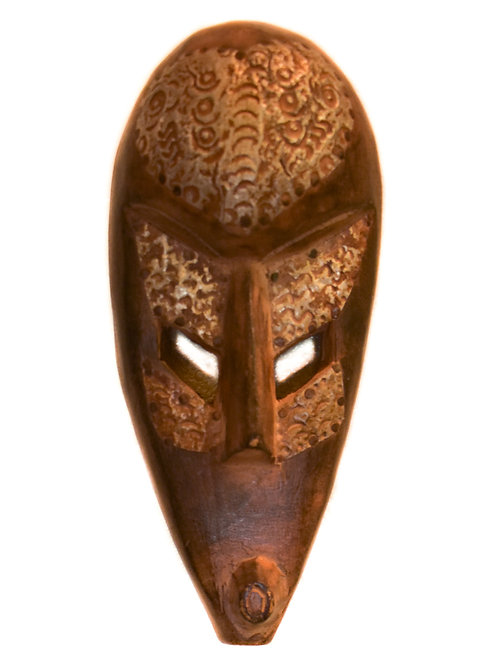 Etched Tribal Mask