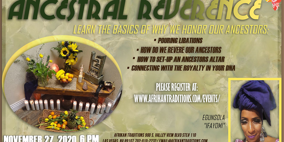 Ancestral Reverence