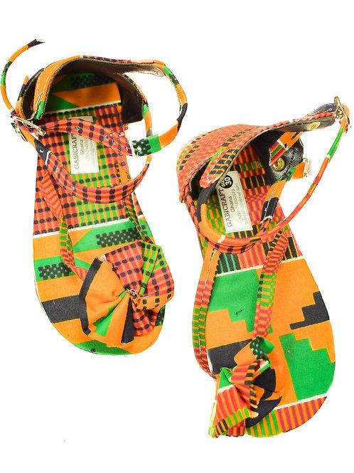 Women's Afrikan print set