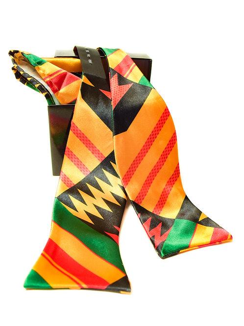 Kente design print Neck Tie