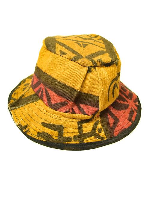 Vintage African Print Bucket Hat
