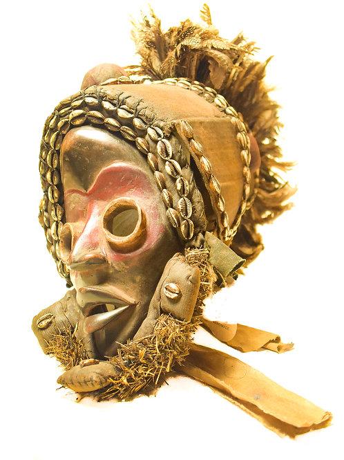 Antique Kuba Mask-1