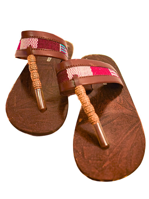 Woven Leather Sandles