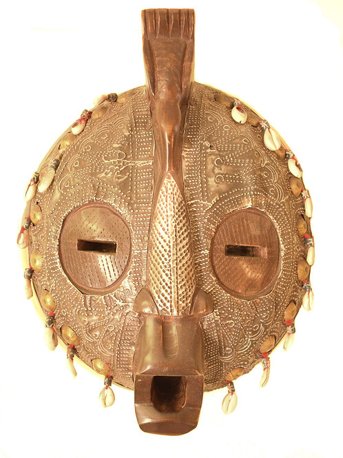 Animal Cowry Mask