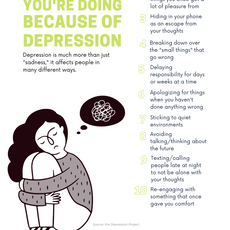 Things You May Not Realize You're Doing Because of Depression