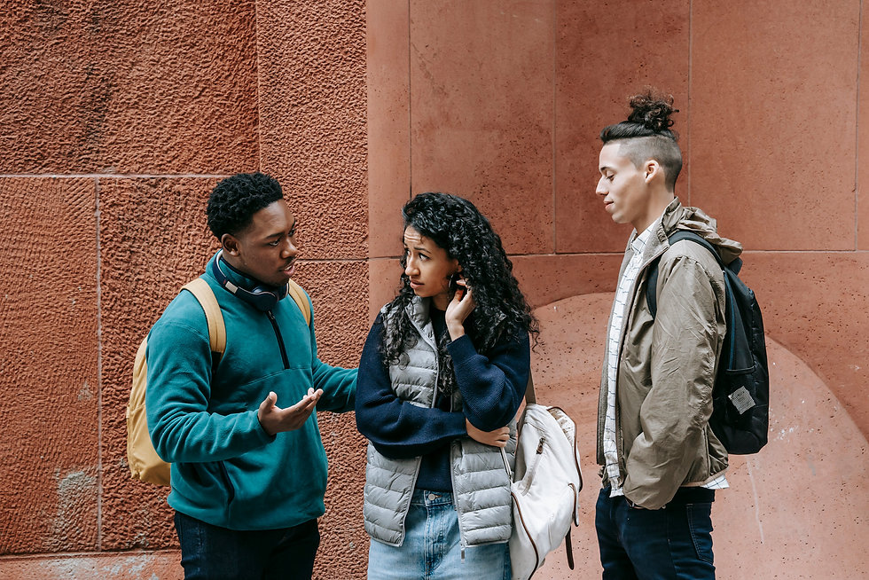 canva-diverse-teens-chatting-on-street-a