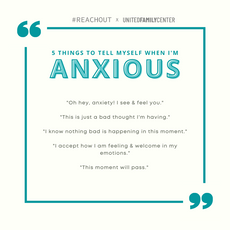 5 Things to Tell Myself When I'm Anxious