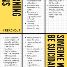 Warning Signs Someone May Be Suicidal