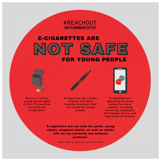 E-Cigarettes are Not Safe for Young People