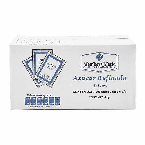 AZÚCAR REFINADO 5GRS C/1000 PZAS