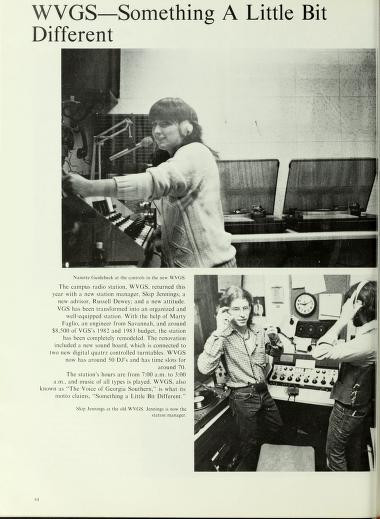 WVGS in 1983
