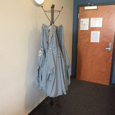 Caroline English's grandmother's coat rack. A hand-me-down that adds originality to the space. Photo by Chase Davis.