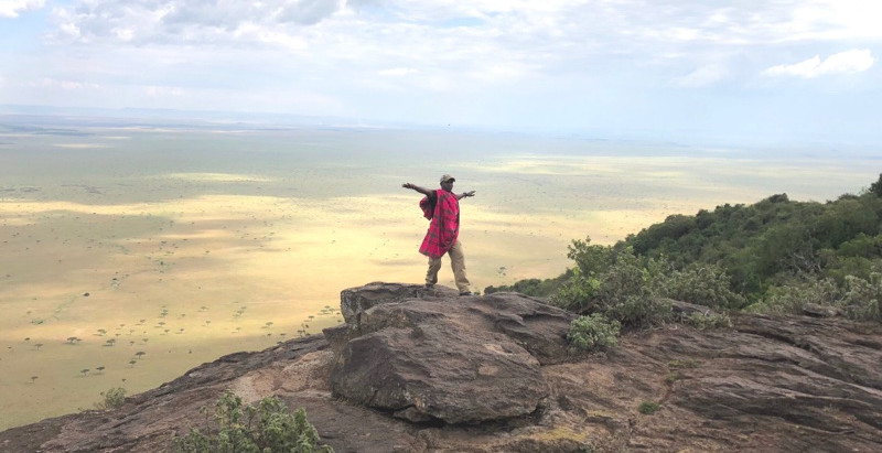 The beginning of Kenya & Mara West