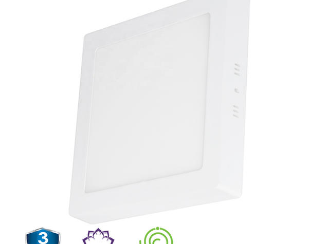 Rho Line - LED Square Surface Panel Series