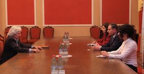 Արտակ Զաքարյանը հանդիպել է Եվրոպական խորհրդարանի պատգամավոր Խավիեր Նարտի հետ:
