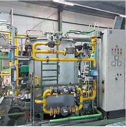 Schutzgaserzeuger und Härtepressen