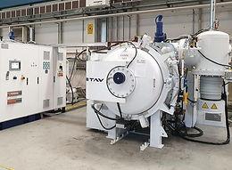 Vakuumofen, Fa. TAV, TPHF 40/40/60, Baujahr 2006