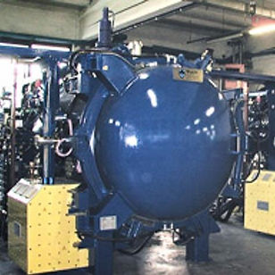 Vakuumofen, Fa. TAV, TP 60/60/90, Baujahr 2006