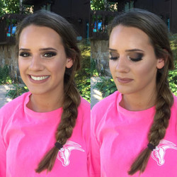 Caitlyn Senior picture makeup