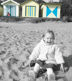Photograph-of-toddler--mornington-Beach