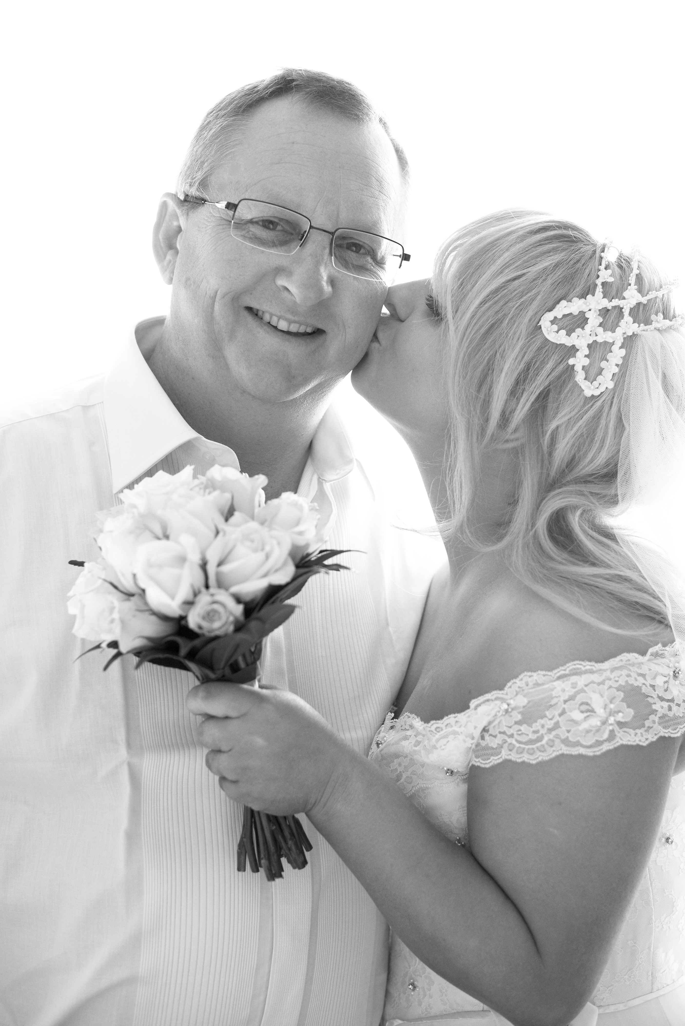 Bride-kiss-father