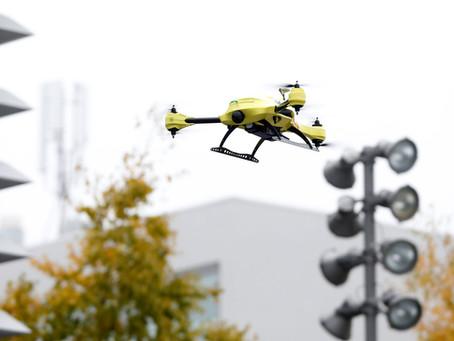 Opnieuw test orgaantransport met drone in VS