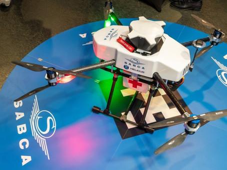 Antwerpen test transport via drones tussen ziekenhuizen.