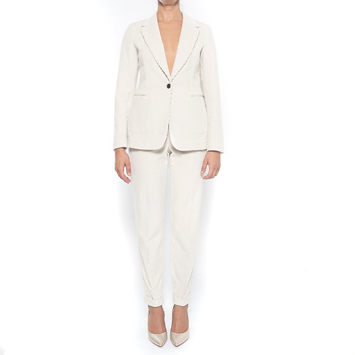 Tailleur classico in Velluto T-Jacket