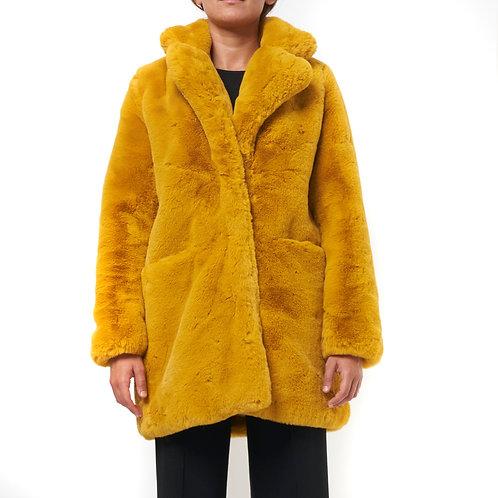 Cappotto pelliccia ecologica