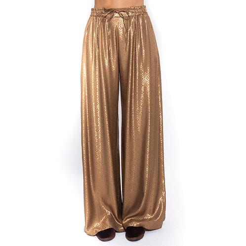 Pantaloni larghi con coulisse