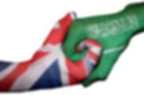 Diplomatic handshake between countries_