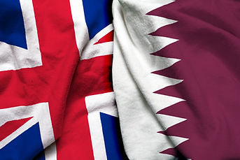 England and Qatar flag together.jpg