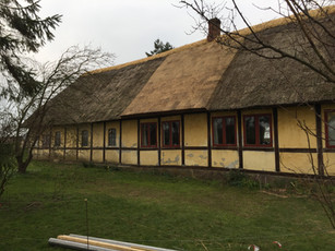Lille gård nær Kettinge på Lolland
