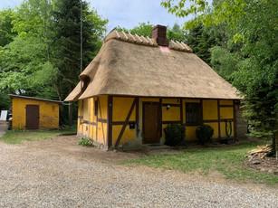 Hus ved Søholt Gods