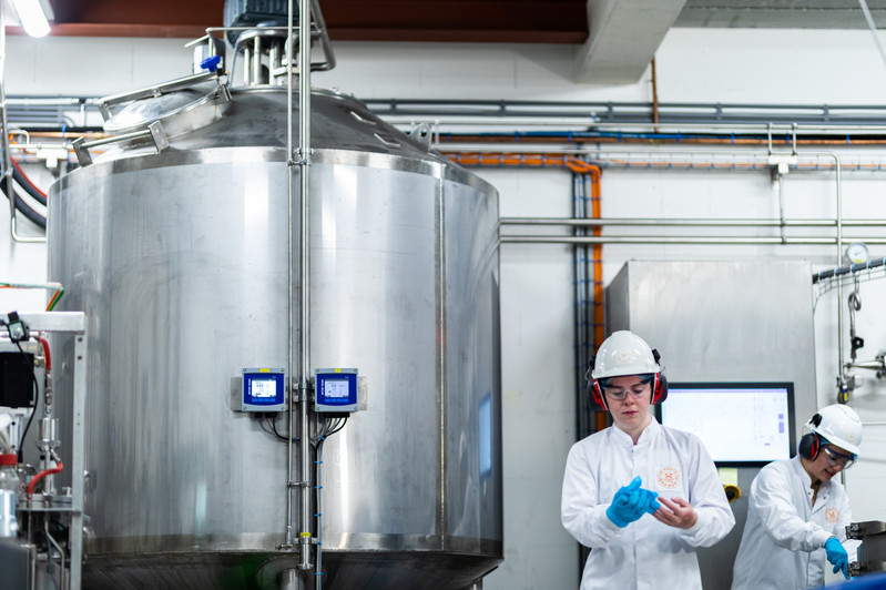 The Protein Brewery pilot plant Breda, the Netherlands